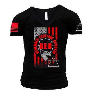 Mens RED (Remember Everyone Deployed) T-shirt