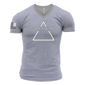 Male Logo V-Neck T-Shirt