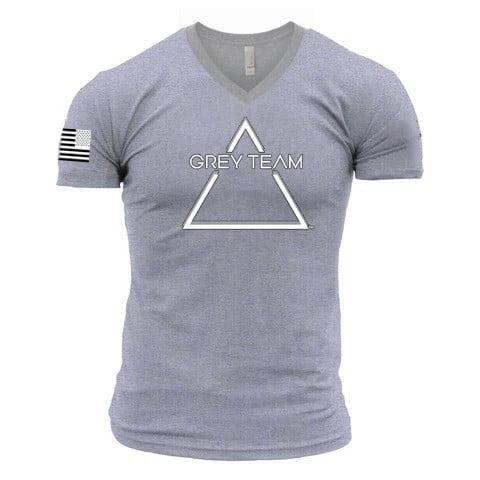 Male Logo V-Neck T-Shirt