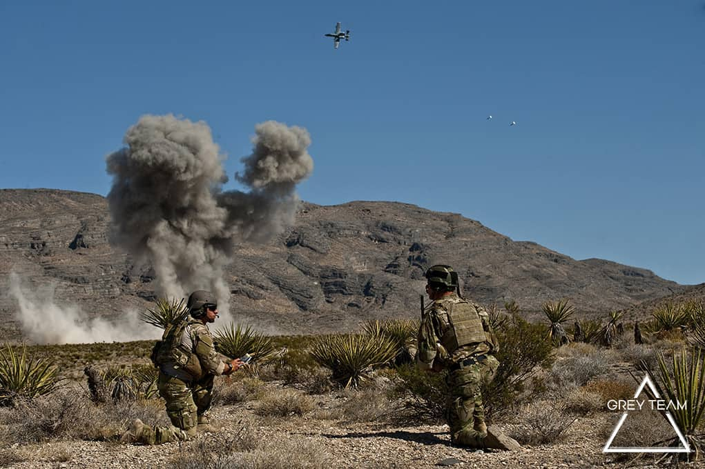 21st STS JTACs CAS training mission at Nevada Test and Training Range2