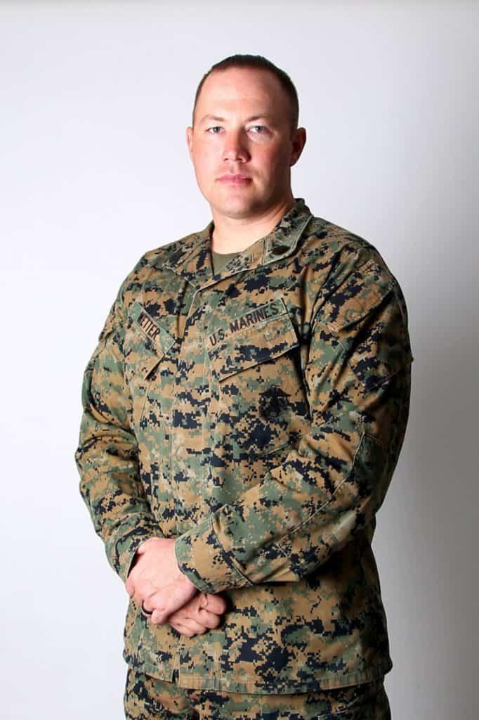 Marine Gunnery Sgt. Kyle Wetter