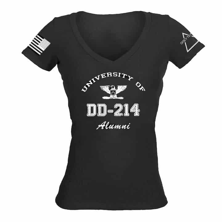 Women's DD-214 V neck