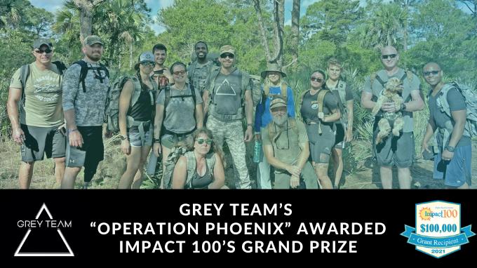 Grey Team Operation Phoenix Awarded Impact 100s Grand Prize